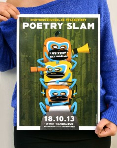 Neues PoetrySlam Poster